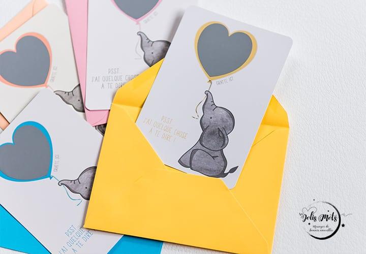 slide-cartes gratter